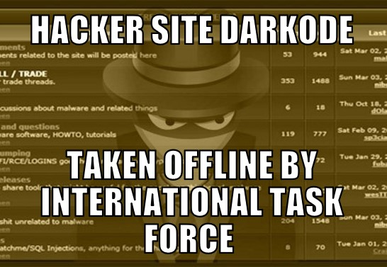 Major computer hacking forum Darkode eradicated?