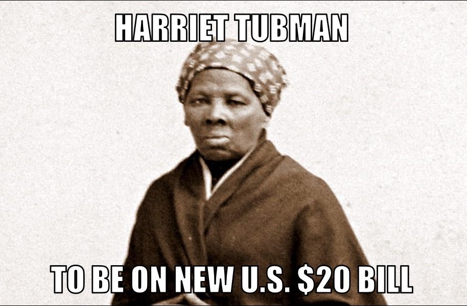 tubman4 21 16?w=640 harriet tubman on $20 memenews