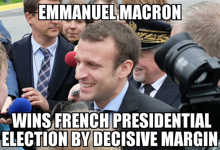 meme2017 05 07 06 01 21 emmanuel macron wins french presidential election memenews