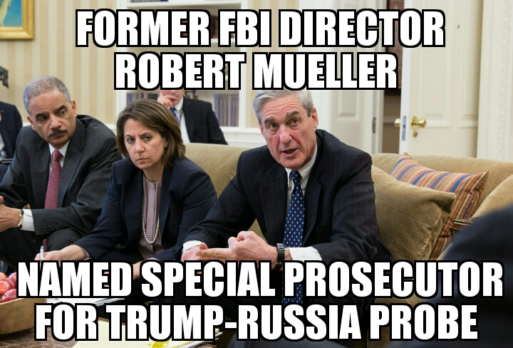 Robert Mueller Named Trump Russia Special Prosecutor Memenews