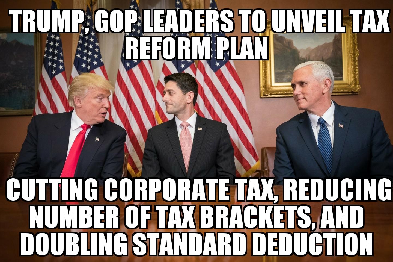 meme2017 09 27 10 22 56 trump, gop to unveil tax reform plan memenews