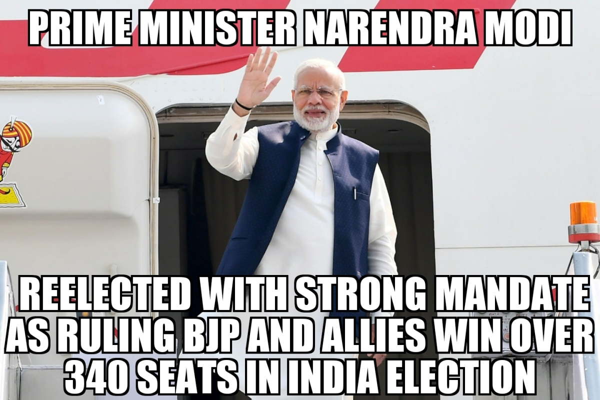 Narendra Modi Wins India Election With Strong Mandate