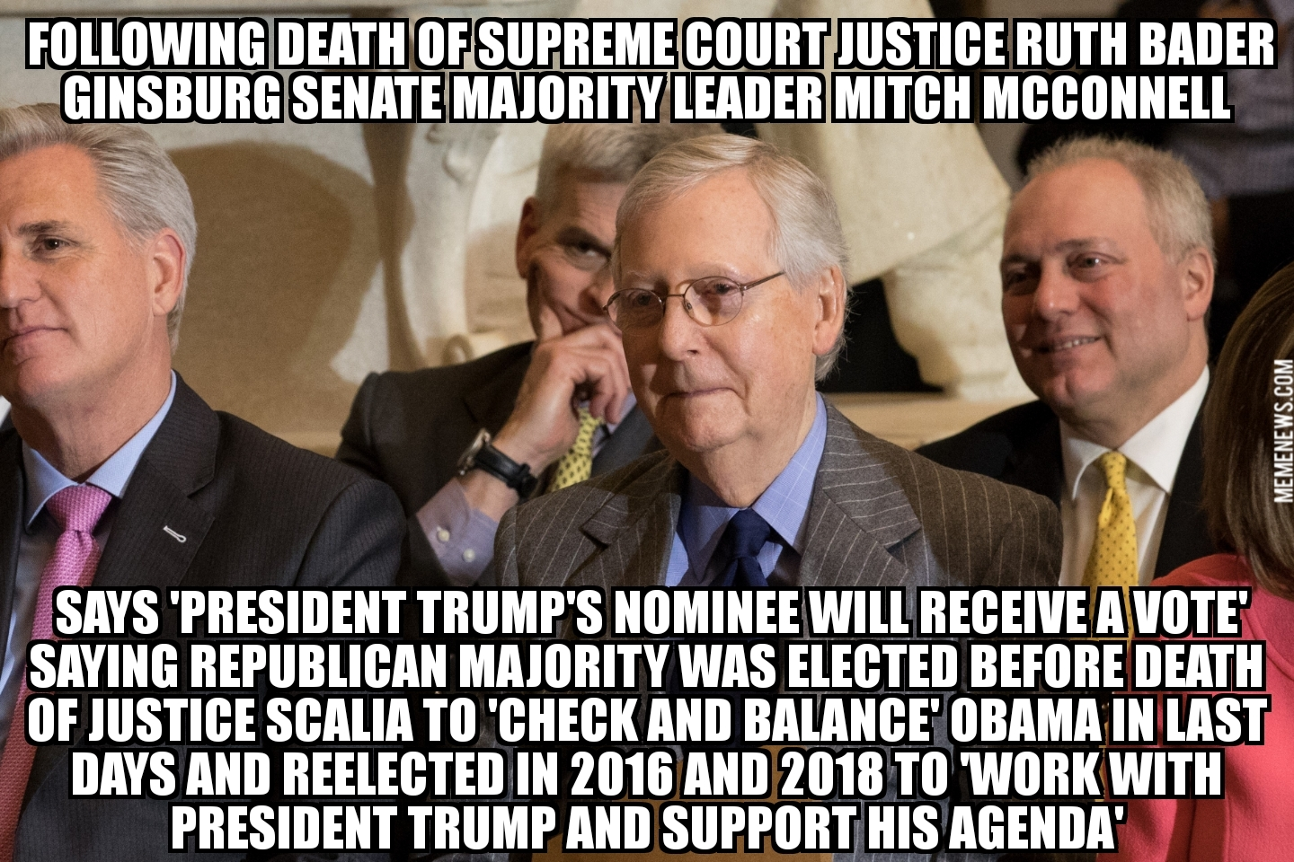 Mitch Mcconnell Memes Supreme Court - Senate Majority Leader Mitch Mcconnell Follow @Mcconnellpress & @Srcc.